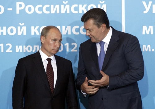 Tổng thống Ukraine Yanukovich đã chạy trốn sang Nga? - Ảnh 1