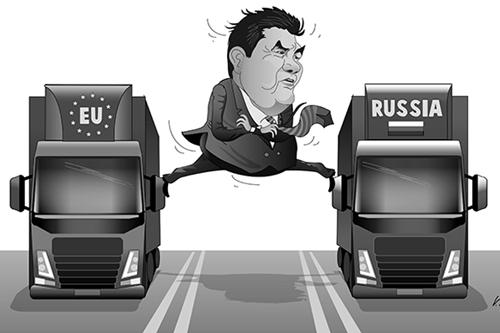 Ukraine: Theo Châu Âu hay theo Nga? - Ảnh 1