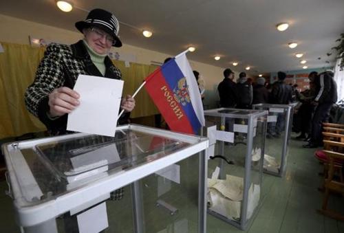 Kết quả chính thức: Gần 97% cử tri Crimea muốn gia nhập Nga - Ảnh 3