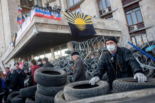 Đông nam Ukraina vẫn căng thẳng - Ảnh 1