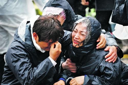 Đắm phà Hàn Quốc: Thảm kịch quốc gia  - Ảnh 2