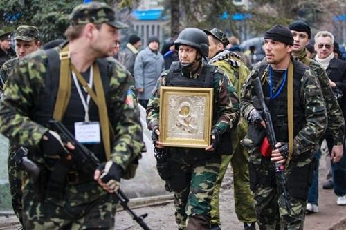 """Ukraina: Phe ly khai lập """"Cộng hòa Nhân dân Lugansk"""" - Ảnh 1"""