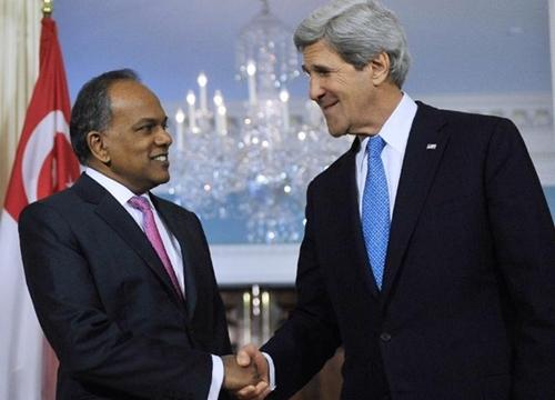 """Ngoại trưởng Mỹ: Trung Quốc """"hiếu chiến"""" trên Biển Đông - Ảnh 1"""