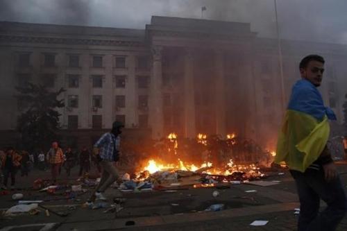 """""""Thùng thuốc súng"""" đông nam Ukraina phát nổ dữ dội - Ảnh 1"""