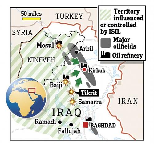 Hậu quả nghiêm trọng của việc chính phủ Iraq mất Mosul  - Ảnh 2