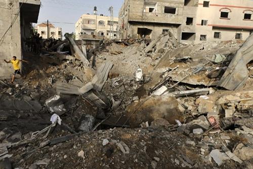 Israel không kích Gaza: 160 người chết, 1.000 bị thương - Ảnh 2