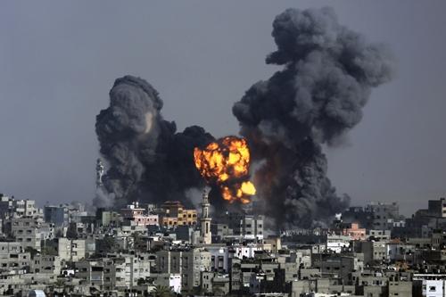 Giao tranh tái diễn ác liệt ở Gaza  - Ảnh 1