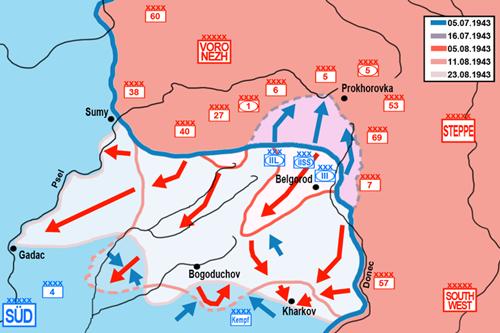 Vòng cung Kursk: Trận đấu tăng lớn nhất lịch sử chiến tranh - Ảnh 6
