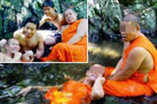 """Thái Lan chấn động vì """"ảnh nóng"""" của các nhà sư  - Ảnh 1"""