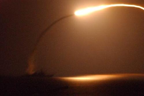 Mỹ bắt đầu không kích IS trên lãnh thổ Syria - Ảnh 1
