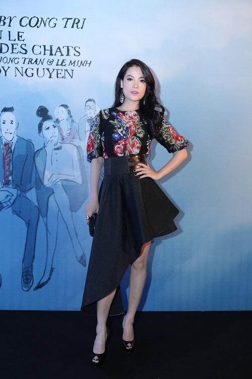 Sao VIệt xuất hiện lộng lẫy trên thảm đỏ Elle Fashion Show - Ảnh 6