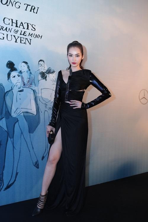Sao VIệt xuất hiện lộng lẫy trên thảm đỏ Elle Fashion Show - Ảnh 13