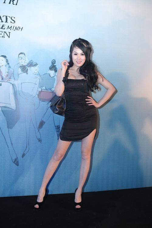 Sao VIệt xuất hiện lộng lẫy trên thảm đỏ Elle Fashion Show - Ảnh 4