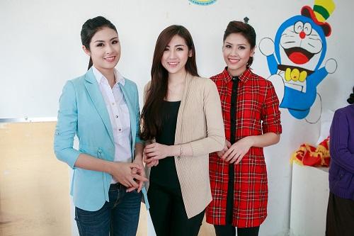 Ngọc Hân rủ Tú Anh, Nguyễn Thị Loan làm từ thiện đầu năm - Ảnh 2