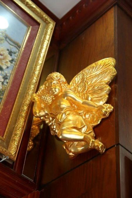 Biệt thự mạ vàng 24K của đại gia tuổi ngựa ở Hà Nội - Ảnh 9