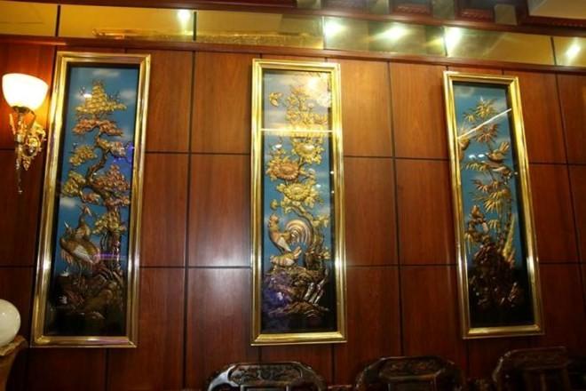 Biệt thự mạ vàng 24K của đại gia tuổi ngựa ở Hà Nội - Ảnh 12