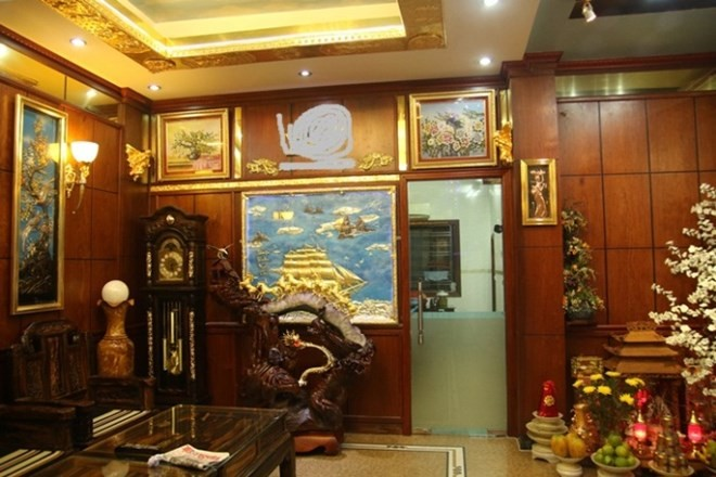 Biệt thự mạ vàng 24K của đại gia tuổi ngựa ở Hà Nội - Ảnh 1