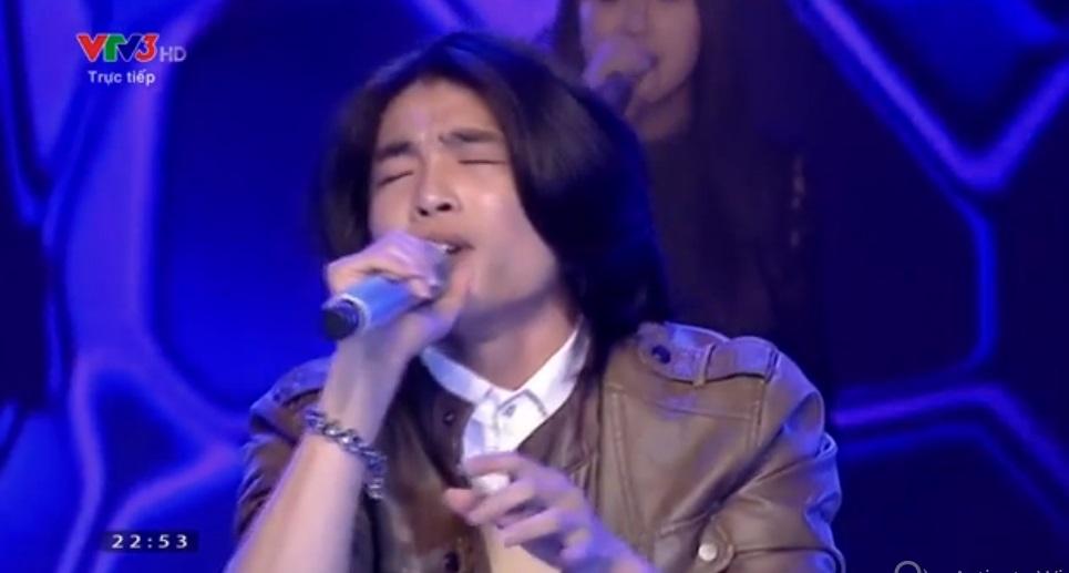 Liveshow 8-Bán kết Nhân tố bí ẩn 2014: Quang Đại ngậm ngùi ra về - Ảnh 12