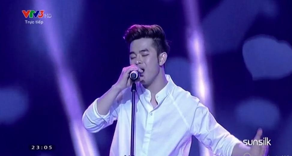 Liveshow 8-Bán kết Nhân tố bí ẩn 2014: Quang Đại ngậm ngùi ra về - Ảnh 14