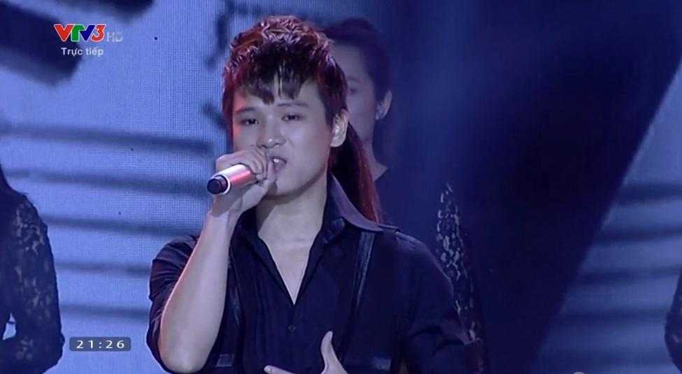 Liveshow 8-Bán kết Nhân tố bí ẩn 2014: Quang Đại ngậm ngùi ra về - Ảnh 3