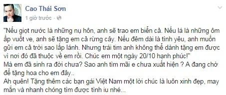 Sao Việt gửi lời chúc ngày 20/10 - Ảnh 8