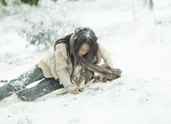 """Ngỡ ngàng cảnh """"tuyết rơi"""" trắng trời ở Đà Lạt - Ảnh 6"""
