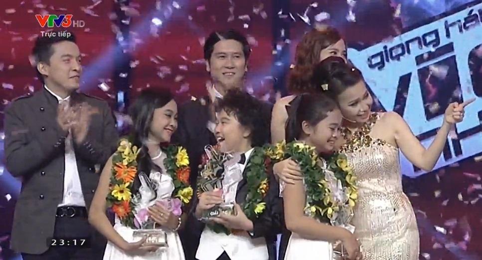 Chung kết Giọng hát Việt nhí: Thiện Nhân giành ngôi quán quân - Ảnh 3