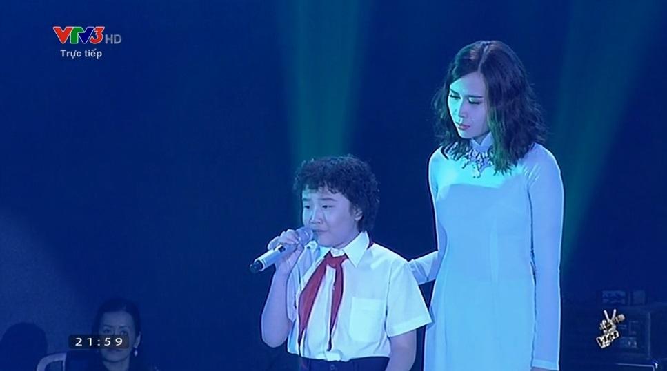 Chung kết Giọng hát Việt nhí: Thiện Nhân giành ngôi quán quân - Ảnh 9