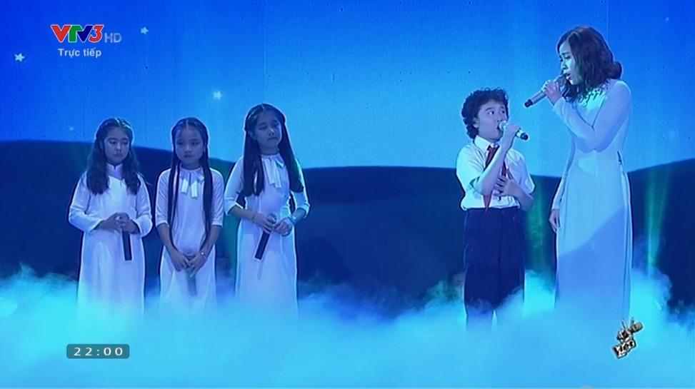 Chung kết Giọng hát Việt nhí: Thiện Nhân giành ngôi quán quân - Ảnh 10