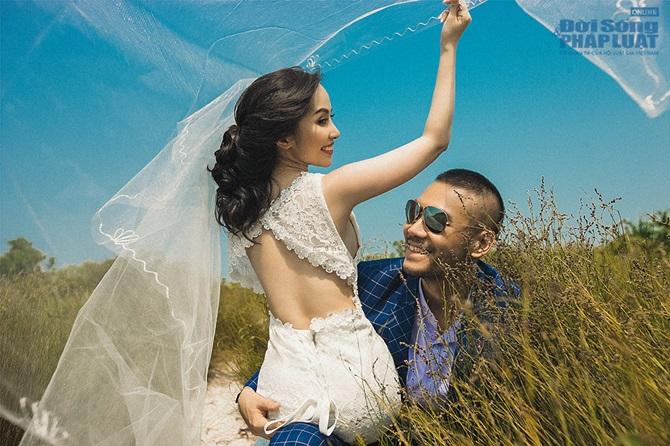 Doãn Tuấn - Quỳnh Nga tung ảnh cưới lãng mạn trên biển - Ảnh 7
