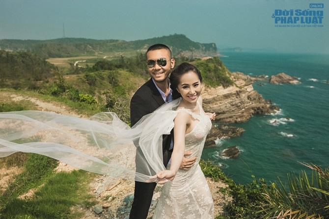 Doãn Tuấn - Quỳnh Nga tung ảnh cưới lãng mạn trên biển - Ảnh 6
