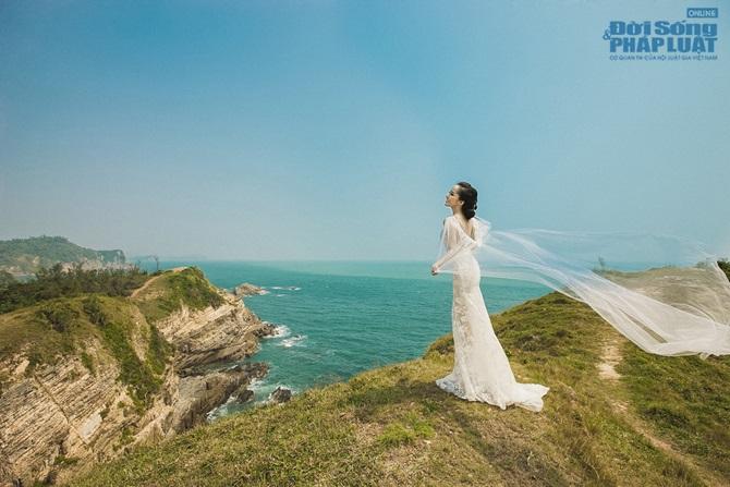 Doãn Tuấn - Quỳnh Nga tung ảnh cưới lãng mạn trên biển - Ảnh 9
