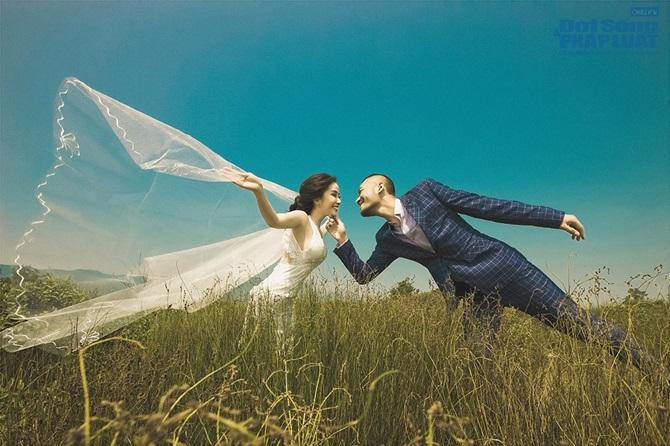 Doãn Tuấn - Quỳnh Nga tung ảnh cưới lãng mạn trên biển - Ảnh 3