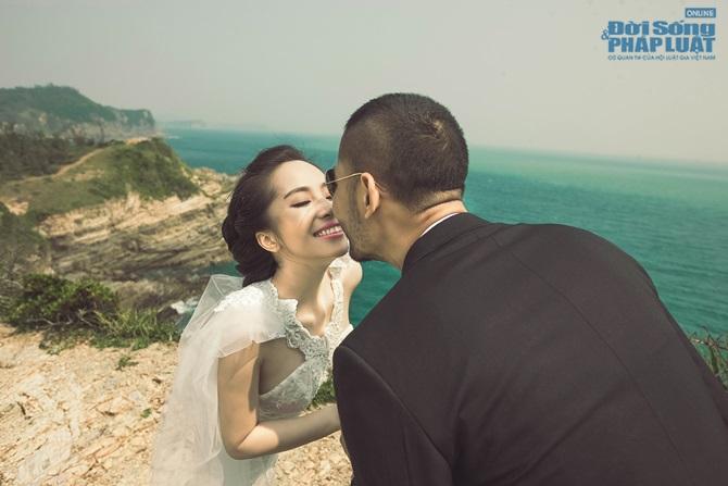 Doãn Tuấn - Quỳnh Nga tung ảnh cưới lãng mạn trên biển - Ảnh 5