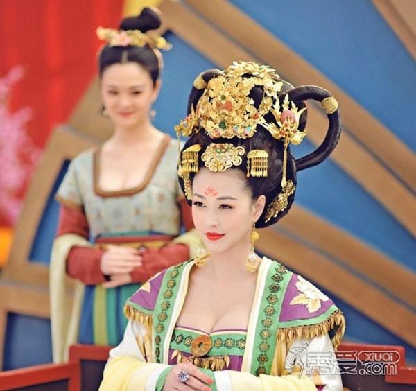 Ngắm dàn phi tần, mỹ nữ tuyệt đẹp trong phim Võ Tắc Thiên - Ảnh 6
