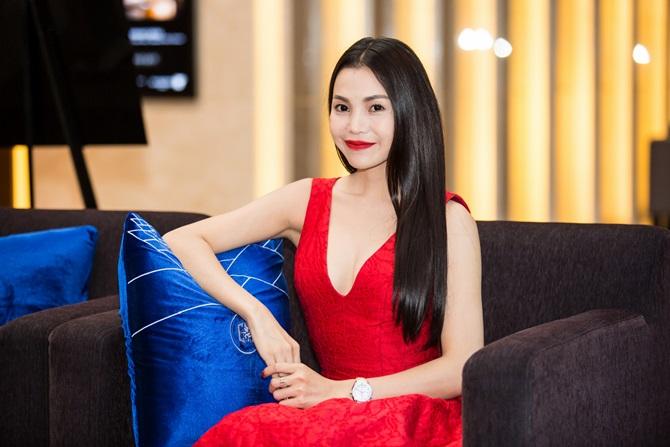 Trà Ngọc Hằng quyến rũ sắc đỏ bên nam ca sĩ Nguyễn Hưng - Ảnh 8