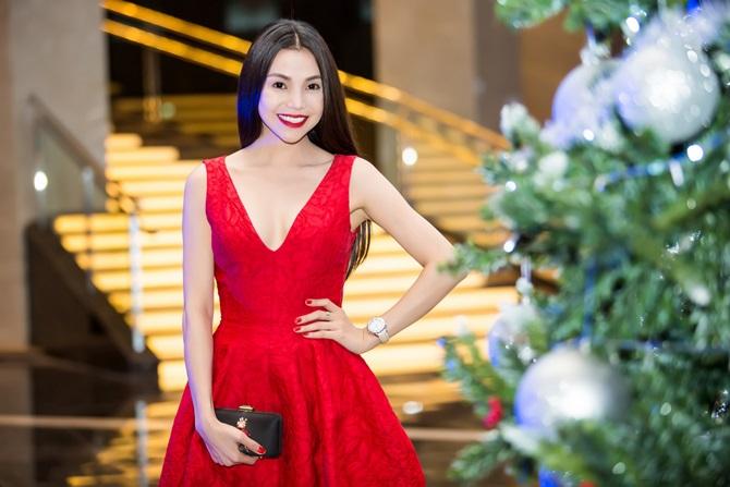 Trà Ngọc Hằng quyến rũ sắc đỏ bên nam ca sĩ Nguyễn Hưng - Ảnh 7