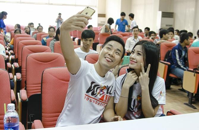 Á hậu Diễm Trang cùng Nguyên Khang truyền đam mê cho giới trẻ - Ảnh 5