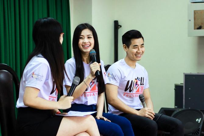Á hậu Diễm Trang cùng Nguyên Khang truyền đam mê cho giới trẻ - Ảnh 3