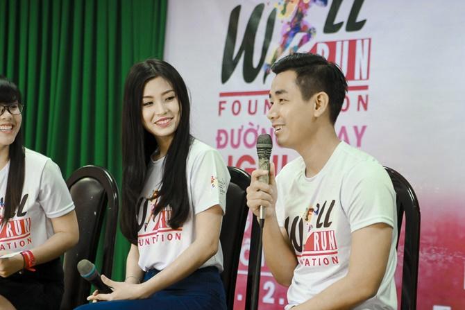 Á hậu Diễm Trang cùng Nguyên Khang truyền đam mê cho giới trẻ - Ảnh 2