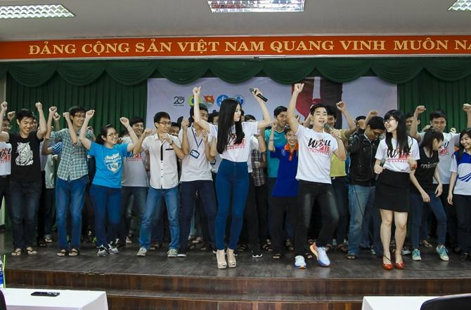 Á hậu Diễm Trang cùng Nguyên Khang truyền đam mê cho giới trẻ - Ảnh 10