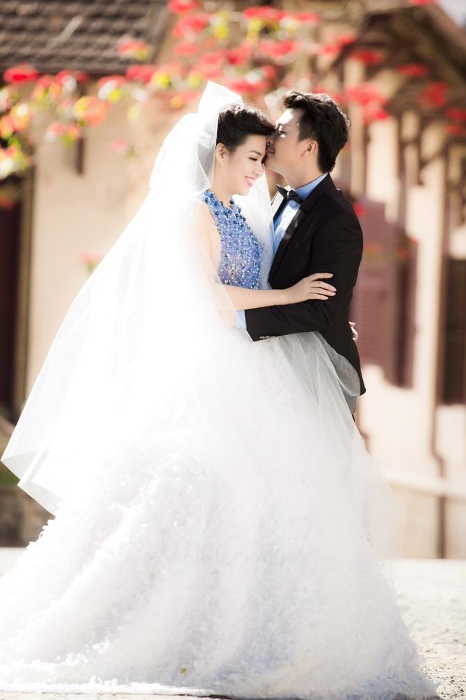 Lê Khánh tung ảnh cưới tràn ngập những nụ hôn - Ảnh 5