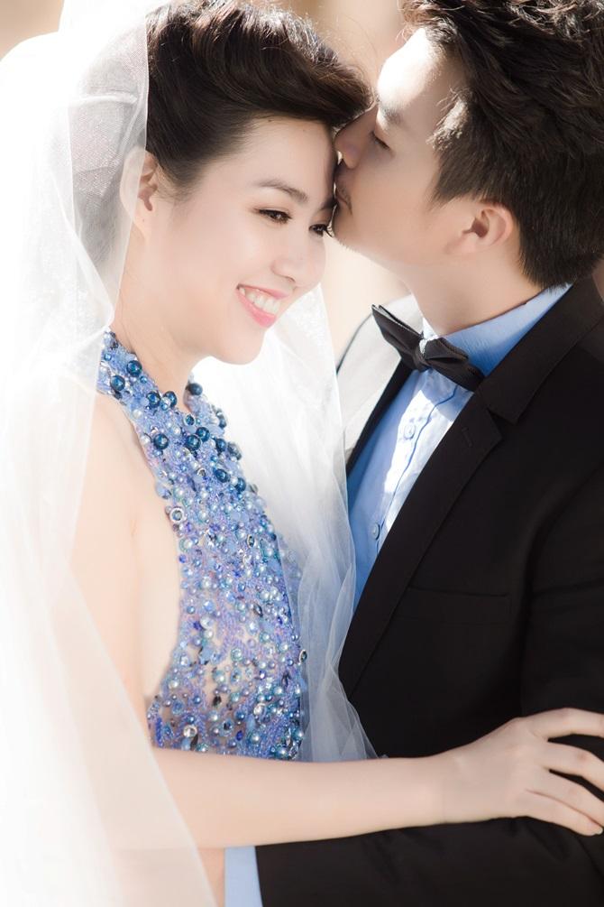 Lê Khánh tung ảnh cưới tràn ngập những nụ hôn - Ảnh 6