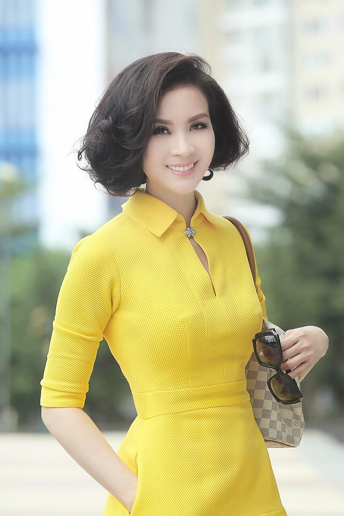 """MC """"không tuổi"""" Thanh Mai khoe vẻ đẹp bất chấp thời gian - Ảnh 6"""