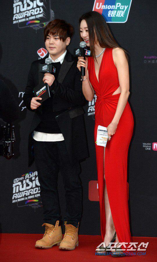 Dàn sao trên thảm đỏ lễ trao giải âm nhạc MAMA 2014 - Ảnh 1