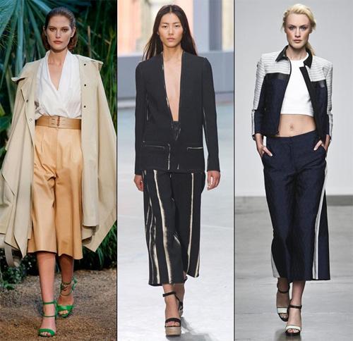 Quần ngố ống rộng - xu hướng thời trang nổi bật hè 2014 - Ảnh 2