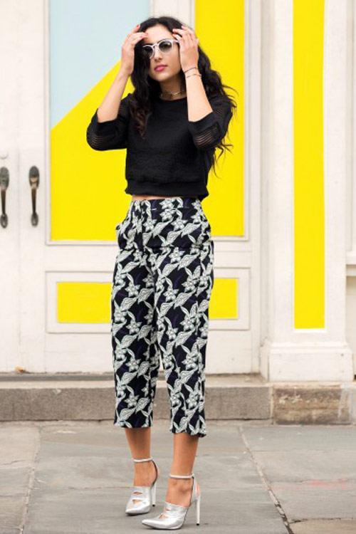 Quần ngố ống rộng - xu hướng thời trang nổi bật hè 2014 - Ảnh 5