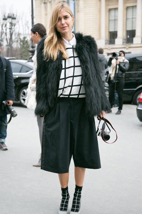 Quần ngố ống rộng - xu hướng thời trang nổi bật hè 2014 - Ảnh 7