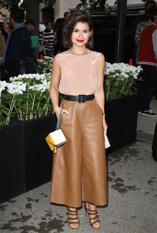 Quần ngố ống rộng - xu hướng thời trang nổi bật hè 2014 - Ảnh 3