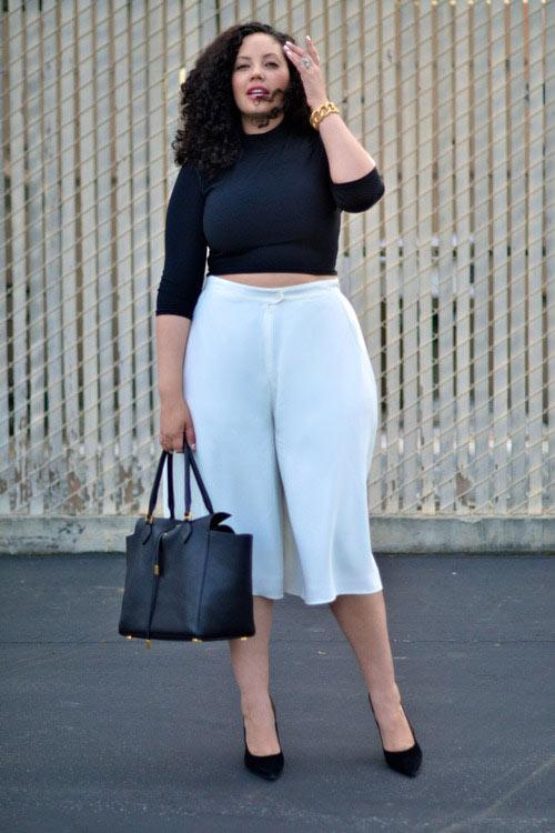 Quần ngố ống rộng - xu hướng thời trang nổi bật hè 2014 - Ảnh 9